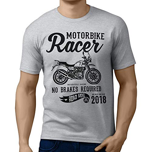 RH Racer Illustration for A Royal Enfield Himalayan Motorbike Fan T-Shirt