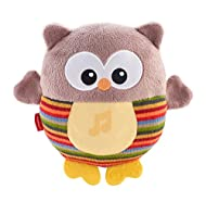 Plays charming hoot-hoot sounds and over 15 minutes of soothing music Soft, cuddly and soothing with a calming, glowing belly Baby activates music and sounds with a gentle squeeze, introducing cause and effect Teethable feet Soft knits and plush fabr...