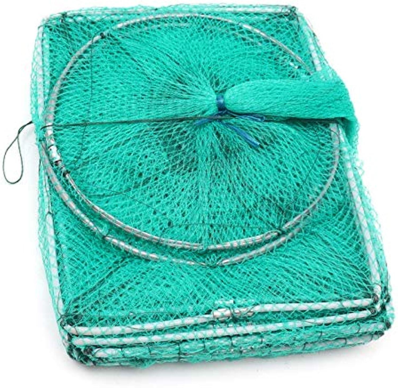 Bobing Nylon Fishing Net 3.2m Long Tube Multiple Sections Foldable Mesh EEL Shrimp Crab Lobster Fish Trap Portable Fishing Tools