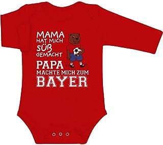 Shirtgeil Mama hat Mich süß gemacht Papa machte Mich zum Bayer Baby Langarm Body