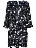 JACQUELINE de YONG 3/4 Kleid JDYORLA Frill Dress 15138687 Night Sky Gr. 42