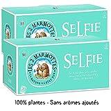 Les 2 Marmottes Infusion Selfie - Fenouil Verveine Fleur D'oranger - Bien-Être Et Relaxation - Gamme Pour Se Recentrer Sur Soi - 30 Sachets Par Boite - Made In France