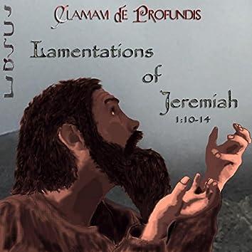 Lamentations of Jeremiah 1:10-14