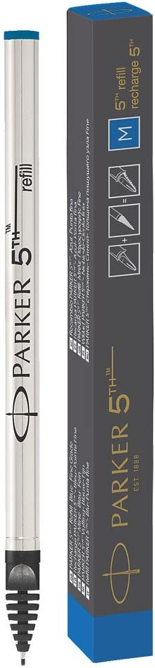 gift box 1842801 Parker 5th refill for Parker 5th Technology Ink Pens Medium point Black ink