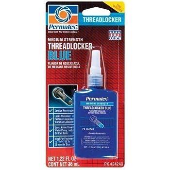 Permatex Threadlocker 1.22 Oz Blue