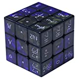 NSST Cube Cubes of Rubik Magic Cube Mathematical Chemistry 3x3x3 Amazing Halloween Monster Smooth Brain Smooth Speed Twisted 3D Puzzle Game,Black