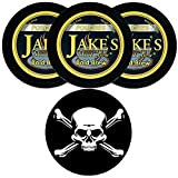 Jake's Mint Chew Bold Brew Pouch 3 Cans with DC Crafts Nation Skin Can Cover - Jolly Roger