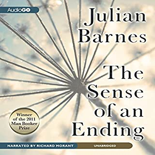 The Sense of an Ending     A Novel              By:                                                                                                                                 Julian Barnes                               Narrated by:                                                                                                                                 Richard Morant                      Length: 4 hrs and 38 mins     1,175 ratings     Overall 3.7