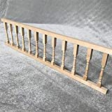 1/12 Casa de muñecas en miniatura Accesorios Mini Valla de madera...