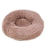 thematys Haustierbett aus hochwertigem Plüschstoff I Waschbares & kratzfestes Hunde-Bettchen I Gemütliches Katzen-Bett (Style 4, 120CM)