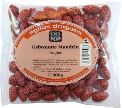 Agilus Gebrannte Mandeln dragiert 300 g