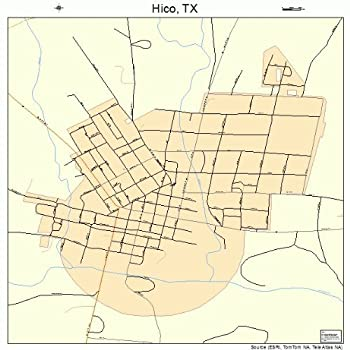 Best hico texas map Reviews