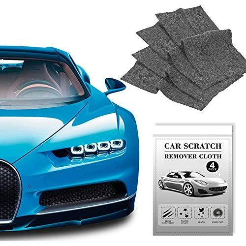 Nano Sparkle Cloth for Car Scratches,Nanomagic Cloth,Car Cloth Nano Sparkle,Scratch Cloth for Car,Nano Cloth For Car Paint Scratch Repair,Easy To Repair Light Scratch Car Paint,Water Spots,4 Pieces