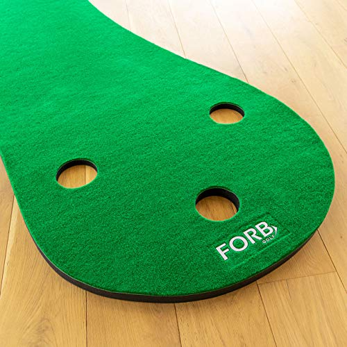 FORB Haus Golf Putting Matten – Praxis & Verbessern, Putt Striche, Golfübungsgeräte Zuhause [Net World Sports] - 5