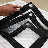 LISI Heavy Duty con Ojales Espesar Impermeable de Tela Impermeable, Hoja Espesar Aislante de plástico Lona, caseta de Tela Impermeable - 120 g/m² (Size : 3m x 6m)