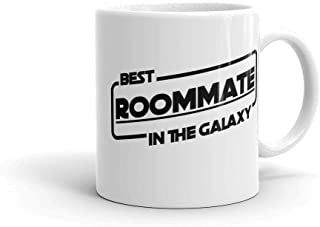 Best Roommate in the Galaxy Mug and Coffee or Tea Cup Classic Roommate Gift for Star