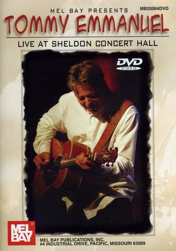 Tommy Emmanuel Live At Sheldon Concert Hall Dvd [UK Import]
