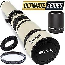 Ultimaxx 650-1300mm (1300-2600 w/ 2X Converter) Telephoto...