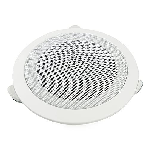 BeMatik - Altavoz de techo redondo de 10W 200mm 6.5'