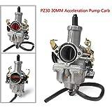 YSMOTO PZ30 PZ 30 MM Cavo 30 mm Pompa carburatore accelerazione carburatore per la Maggior Parte dei...