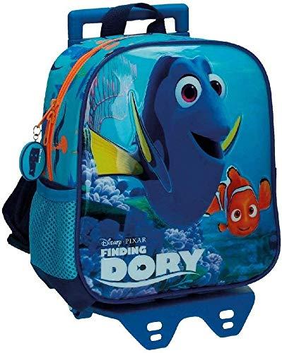 La mejor mochila con ruedas infantil: Mochila preescolar con carro Finding Dory