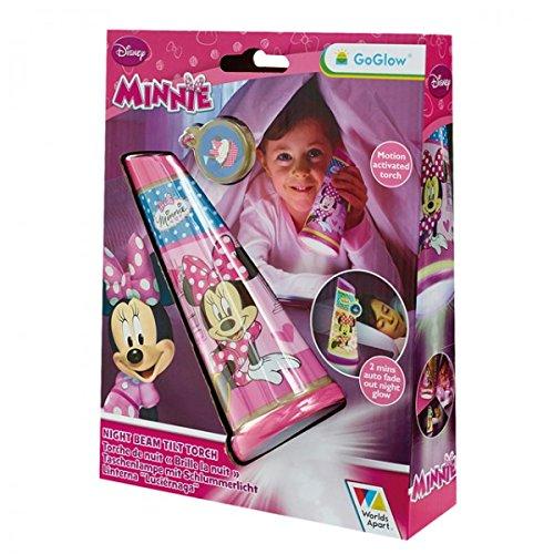 Disney Minnie Mouse GoGlow Taschenlampe Nachtlicht Tilt Torch Kinder Schlafzimmer Kinderzimmer Leuchte