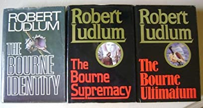 The Bourne Trilogy; Set of 3 Hardcovers - The Bourne Identity, The Bourne Supremacy, The Bourne Ultimatum (Volumes 1-3)