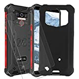 ELANG Case for Oukitel WP5 (5.5') Cover ,Anti-Drop Phone case + 2 x Screen Protector Tempered Glass Protective Film