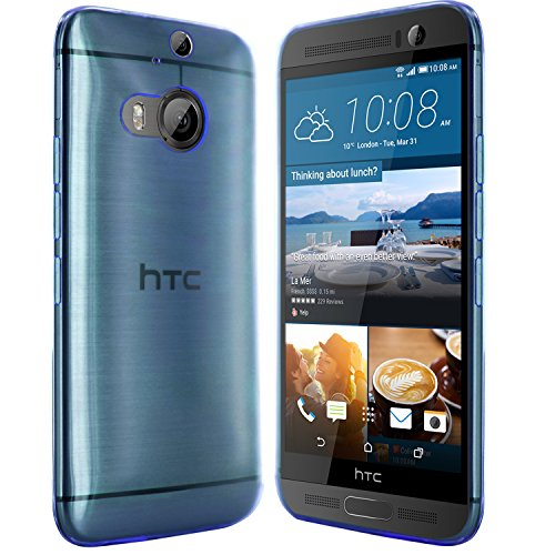 moodie Silikonhülle für HTC One M9+ Hülle in Blau - Hülle Schutzhülle Tasche für HTC One M9 Plus