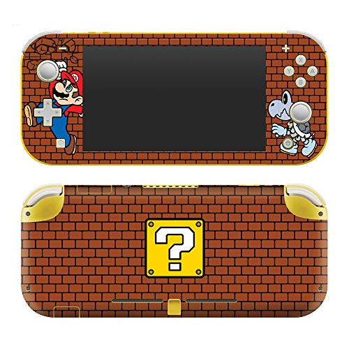 Controller Gear Authentic and Officially Licensed Super Mario - Brick Breaker - Nintendo Switch Lite Skin - Nintendo Switch