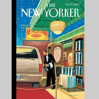 The New Yorker (Oct. 10, 2005) audiobook cover art