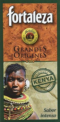 Café Fortaleza Café Molido Grandes Orígenes Kenya - 250 gr - [Pack de 4]