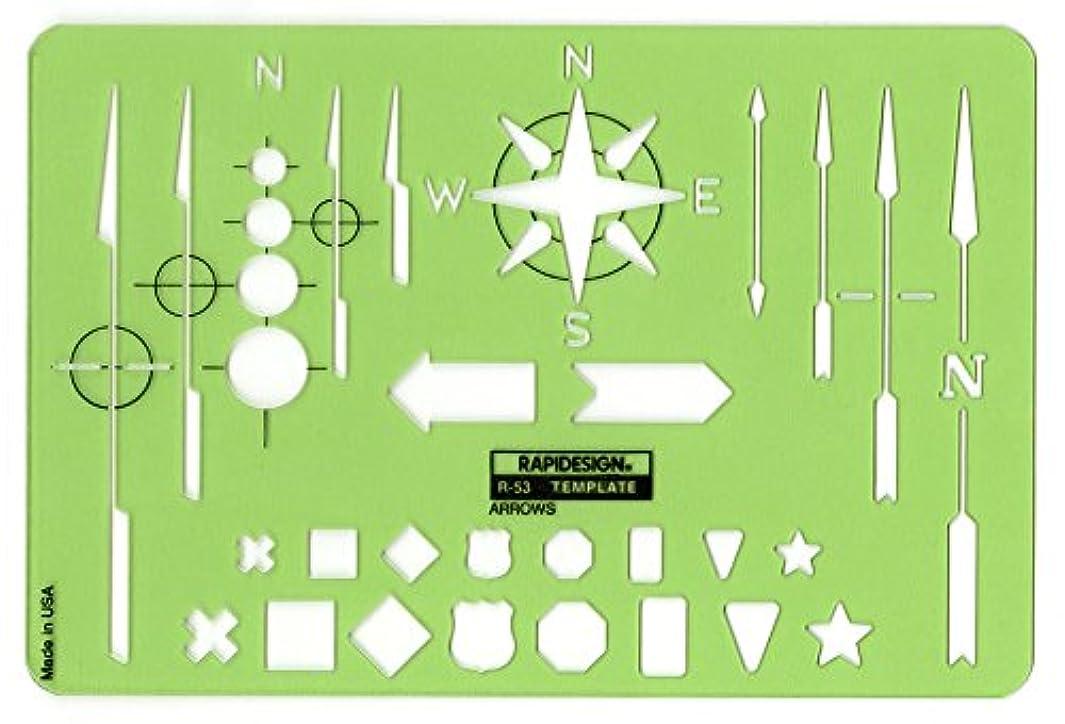 Rapidesign Arrows Template, 1 Each (R53) s956725697