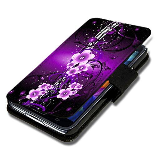 sw-mobile-shop Book Style Huawei Ascend Y330 Premium PU-Leder Tasche Flip Brieftasche Handy Hülle mit Kartenfächer für Huawei Ascend Y330 - Design Flip SB297 - 2
