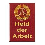 DDR-Nostalgie Magnet | Held der Arbeit