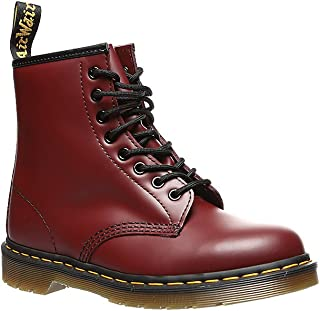Womens 1460 W Smooth Winter Closed Toe Flat Ankle Patent Boot -