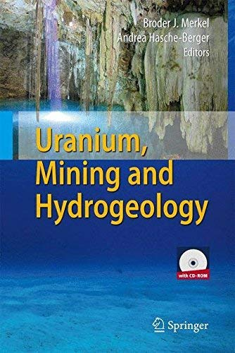 [(Uranium, Mining and Hydrogeology)] [Edited by Broder J. Merkel ] published on (October, 2008)