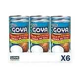 Goya Crema de coco - 6 unidades x 425g 2550 g
