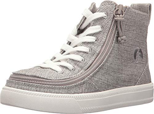 BILLY Footwear Kids Classic Lace High (Toddler/Little Kid/Big Kid) Grey Jersey 3 Little Kid M