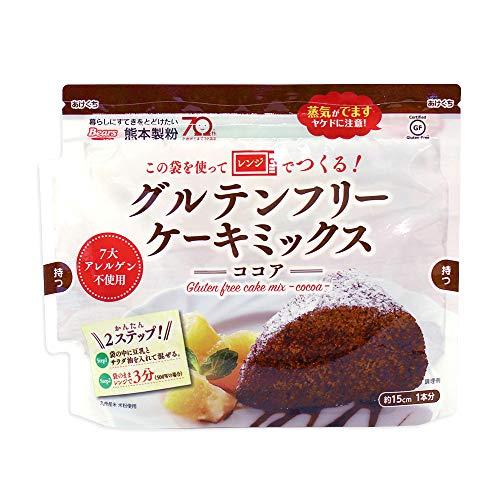 ミックス粉 グルテンフリー ケーキミックス ココア 熊本製粉 80g 米粉 アレルギー対応 小麦粉不使用