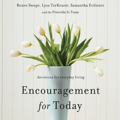 Encouragement for Today audiobook cover art