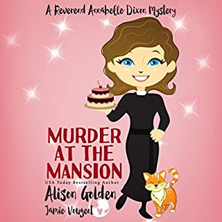 Murder at the Mansion audiobook cover art