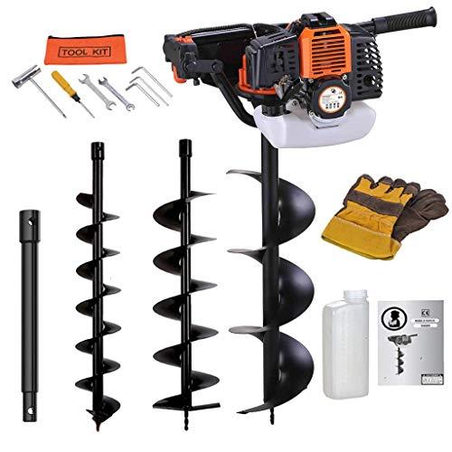 petit un compact Sotech – Outils à essence, tarières, oranges, charge de travail: 52 cm³, diamètre de perçage: 100 mm, 150…
