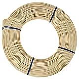 famos Peddigrohr Blauband Beste Qualität Flechtmaterial Peddig Natur Verschiedene Stärken ca. 500g...