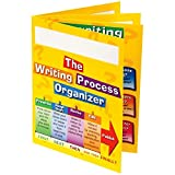 "Really Good Stuff Writing Process 4-Pocket Laminated Student Folders, 9½"" by 12"" (Set of 12) – Keep Students Organized and Teaches Writing Process – Store Work-in-Progress and Monitor Progression"