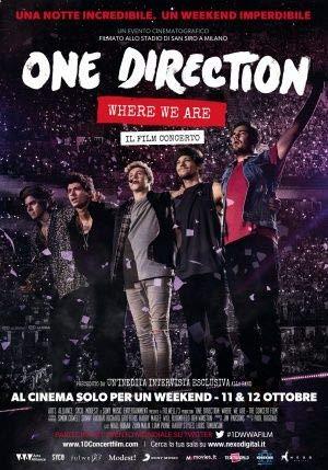 ONE Direction : Where WE Are – Italienisch Film Poster Plakat Drucken Bild - 43.2 x 60.7cm Größe Grösse Filmplakat