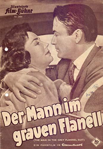 Der Mann im grauen Flanell - Gregory Peck - IFB Filmprogramm 3404 gelocht