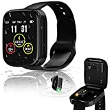 Smart Watch with Earbuds, Fitness Watch for Men Women, Full Touch Screen IP67 Waterproof Sports Fitness Tracker Heart Rate Monitor Step Counter Compatible iPhone and Android Phones