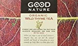Good Nature Organic Wild Thyme Tea, 20 count, 30 grams