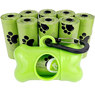 Dog Poop Bags Pet Waste Bag with Dispenser and ...